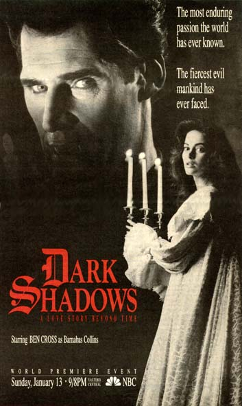 DARK SHADOWS Writer and Director Discovered for DARK SHADOWS